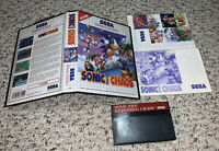 Sonic the Hedgehog Chaos (Sega Master System) Complete Tested