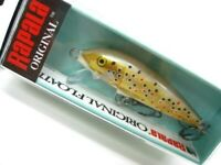color RARE RAPALA ORIGINAL FLOATER 7 cm in BSM Blue Spotted Minnow