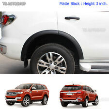 "16 17 Fits Ford Everest SUV 2.2 3.2 4x2 4x4 Matte Black Fender Flares Wheel 3"""