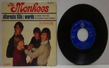 "The Monkees(7"" Vinyl P/S)Alternate Title-RCA-86 956-France-Ex/VG"