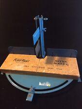 Vintage Montgomery Ward & Co. Power-Kraft Miter Box Jig Table 3971