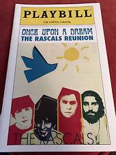 New, Rare The Rascals Reunion Program Port Chester Rascals Reunite after 40 yrs