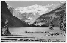 BANFF AB CANADA 1939 View of Beautiful Lake Louise VINTAGE CANADIAN GEM+++
