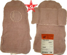 Natural wool Balaclava with camel pile for winter soldier's clothes Soviet Army