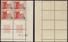 Timbres Préoblitérés coin daté N° 179 neuf sans trace de charnière 7.1.83