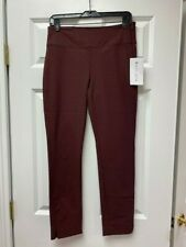 ATHLETA Wander Slim Ankle Pant NWT - Size 6 Antique Burgundy $108