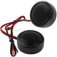 "Memphis Audio 1"" Inch Soft Dome Tweeter 120 Watts Max Street Reference SRX1 Pair"