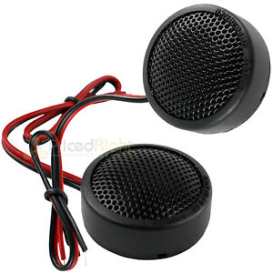 """Memphis Audio 1"""" Inch Soft Dome Tweeter 120 Watts Max Street Reference SRX1 Pair"""