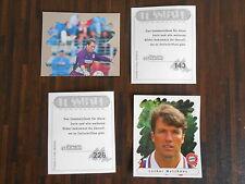 Panini Fußball Bundesliga Endphase 95/96, 6 Sticker aus fast allen aussuchen