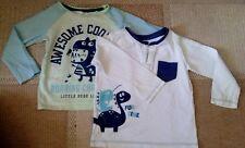 Baby Langarmshirt T-shirt 2-er Pack