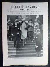 ILLUSTRAZIONE ITALIANA - N.10/1928 - FIERA MILANO - CARNEVALE TORINO