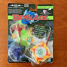 RARE 2002 HASBRO Beyblade Let It Rip Electronic Dragoon Left Spin TOP B-5