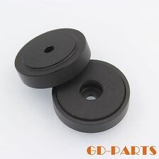 40*10mm Black Machine Aluminum Isolation Feet Pad FR Speaker Turntable AMP DAC*4