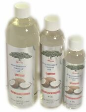 FRACTIONATED  COCONUT OIL 8 Oz. 100% PURE CARRIER OIL FOR SKIN MASSAGE HEALTHY