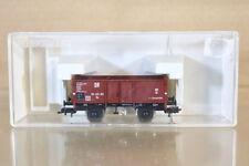 FLEISCHMANN 5711 K DR Marrone Güterwagen STEEL LATI VAGONE MINERALI 300393 NL