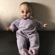 Spooky Ooak Creepy Reborn Haunted Dead Horror Gothic Distressed Boy Doll Billy