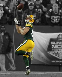 Green Bay Packers JORDY NELSON Glossy 8x10 Photo NFL Spotlight Print Poster