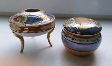 Vintage Art Deco Japanese Noritake Trinket Bowl & Pot Pourri Dish w/ Lid