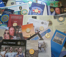 More details for uk royal mint bu brilliant uncirculated £2 coin packs 1986 - 2016 great gift