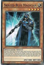 Skilled Blue Magician SECE-EN032 Super Rare Yu-Gi-Oh Card 1st Edition New