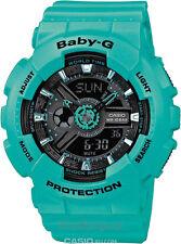 Casio Baby-g Uhr Ba-111-3aer G-shock Look Türkis Damenuhr
