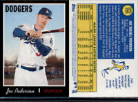 2019 TOPPS HERITAGE JOC PEDERSON BLACK BORDER PARALLEL /50 SP #390 DODGERS!