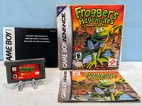 Frogger's Adventures: Temple of the Frog (GBA, 2001) Complete in Box - Tested