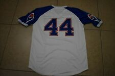 NEW!! Hank Aaron White Pullover Atlanta Braves Home Baseball Jersey Adult Large