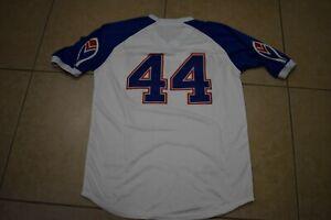 NEW!! Hank Aaron White Pullover Atlanta Braves Home Baseball JerseyMen's XL