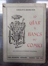LO CHAR A BANCS DE' COMICI AUTOGRAFO ADOLFO NARCISO NAZZARO 1929