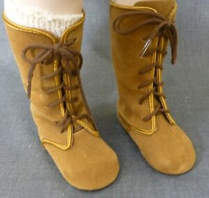 LARGE STYLISH BOOTS & socks for ANTIQUE DOLL, doll Clothes, Shoes, Boots