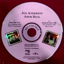 Jon Anderson Amor Real (US 1994) 2Track Promo CD Bruford Howe Squire Wakeman YES