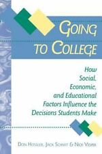 Going to College: How Social, Economic, and Educational Factors Influence the De