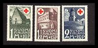 Finland - Sc#B5 - B7 MNH   -    Lot 0820173