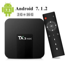 TX3 MINI Android OS S905 Quad Core 4K H.265 Smart TV BOX 2GB DDR 16GB ROM