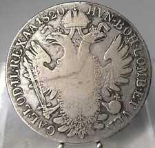 1 Taler 1820 G, Nagybanya, Franz I., Silber