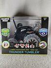 SHARPER IMAGE THUNDER TUMBLER REMOTE CONTROL 360 MONSTER SPINNING STUNT CARBlack