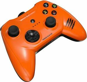 Mad Catz C.T.R.L.i Mobile Gamepad, Gloss Orange - UK Seller