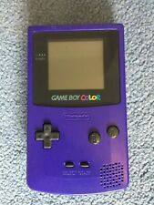 Nintendo Colour Game Boy (Grape) + x2 Super Mario Games + Case