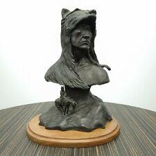 Bronze Sculpture Texas/South West Artist Tom Moss Western Art The Sentinel 1/15