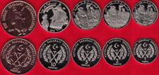 WEST SAHARA 2018 set 5 coins UNC Arabe Saharui #S11