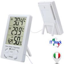 Termometro Igrometro Digitale Misuratore di Umidità Temperatura Interno Ambiente