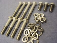Ford Essex V6 Stainless Steel Inlet Manifold Bolts, Nuts & Washers (15)