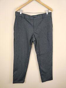 Men's Nike Golf Dri Fit Modern Fit Weatherized Pants 35 x 29 Gray 854775
