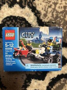 Lego 60006 City Police ATV (Brand New)