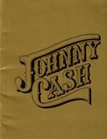 Johnny Cash Concert Tour Book June Carter