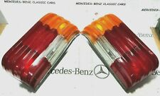MERCEDES W114 W115 2nd SERIES LATE MODELS REAR TAIL LIGHT RIGHT + LEFT PAIR NEW!