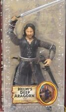Aragorn Helm's Deep action figure Toy Biz Lord of the Rings 2003 NIP