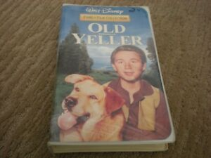 Old Yeller VHS tape Walt Disney Family Collection