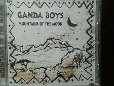 "GANDA BOYS ""MOUNTAINS OF THE MOON"" ALBUM CD. 2015. BWR-10  NEW & SEALED > RARE"